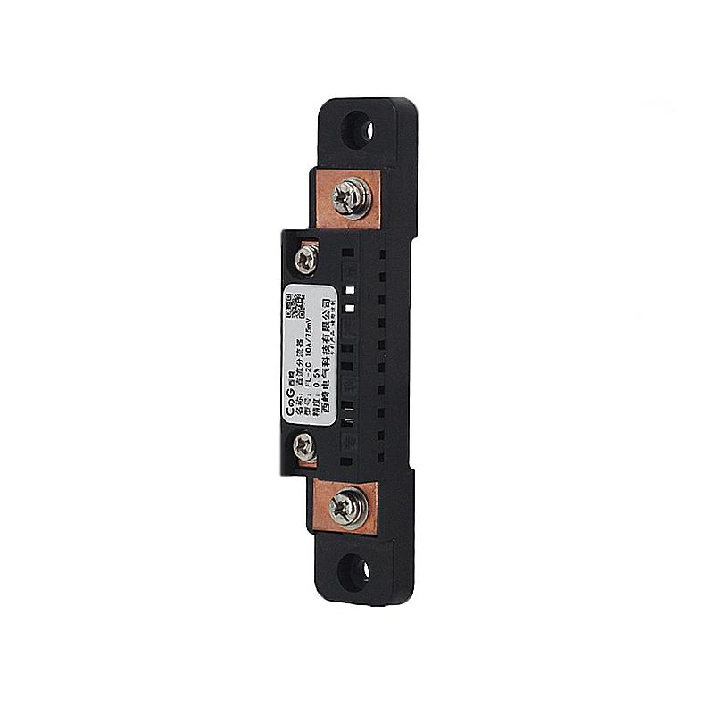 FL-2C10A-100A75мВИзмерительтока Шунт Амперметр постоянного тока Токовый шунтирующий резистор Шунт постоянного тока - фото 4