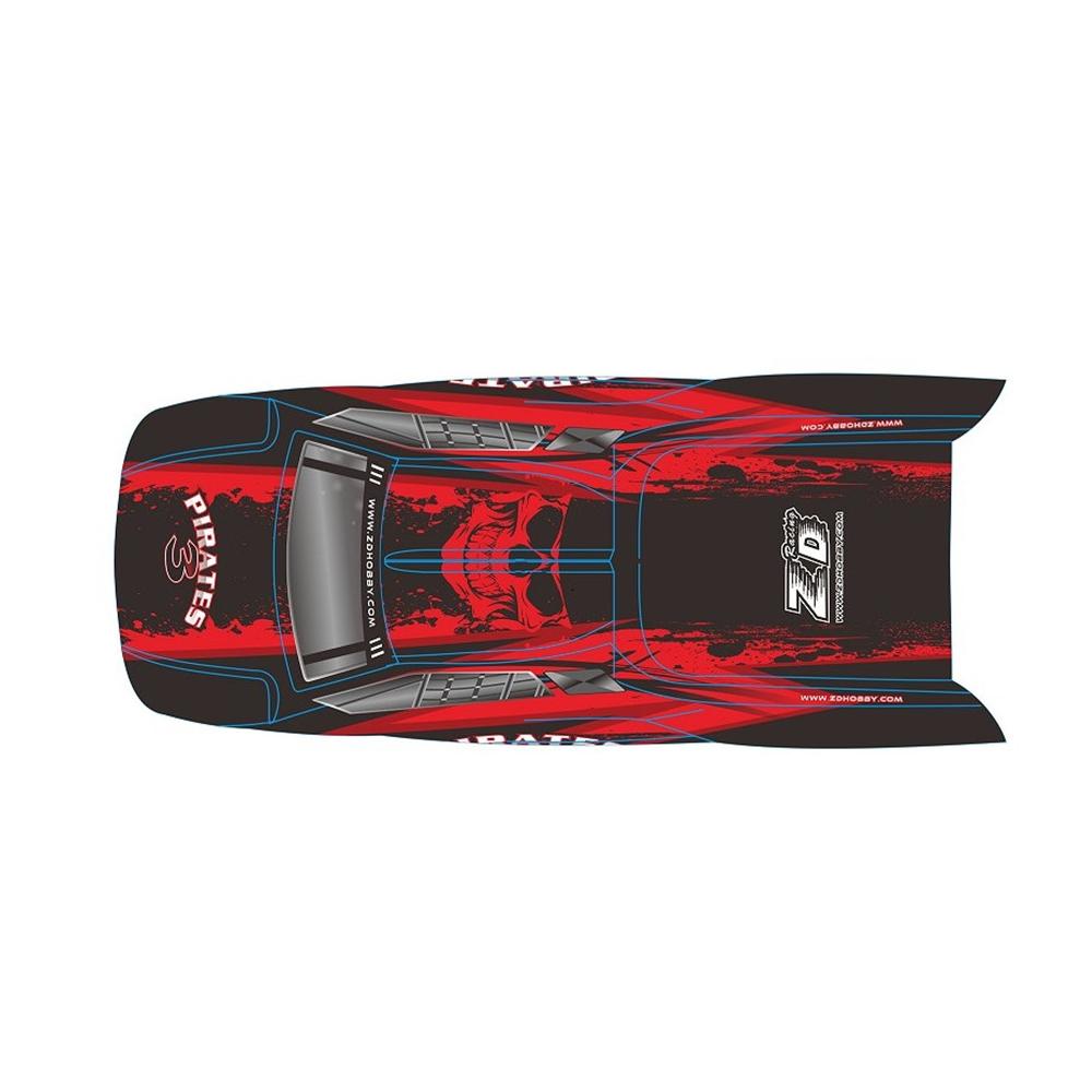 2 ШТ. ZD Racing 8460 ПВХ Авто Корпус для 9021-V3 1/8 Rc Модель Запчасти - фото 6