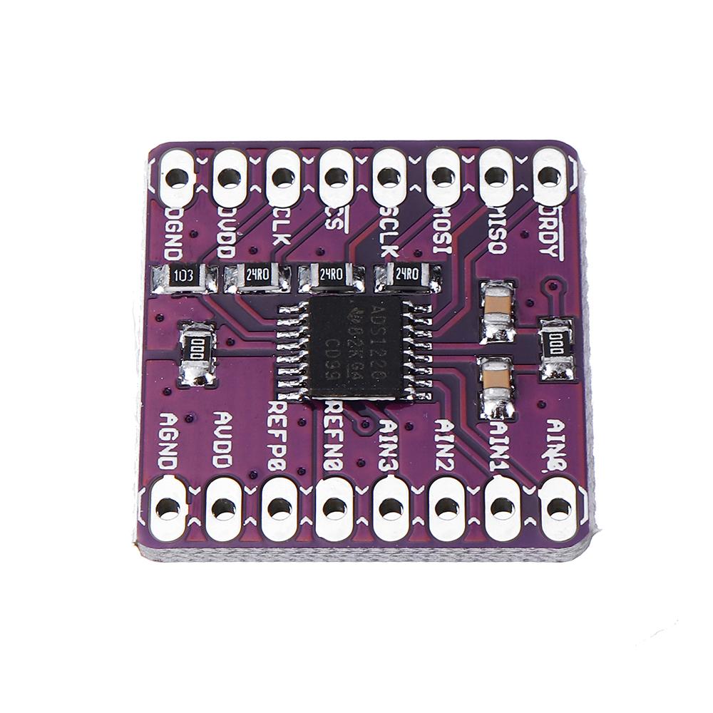 CJMCU-1220 ADS1220 АЦП I2C Маломощный 24-битный аналого-цифровой преобразователь Датчик Модуль - фото 6