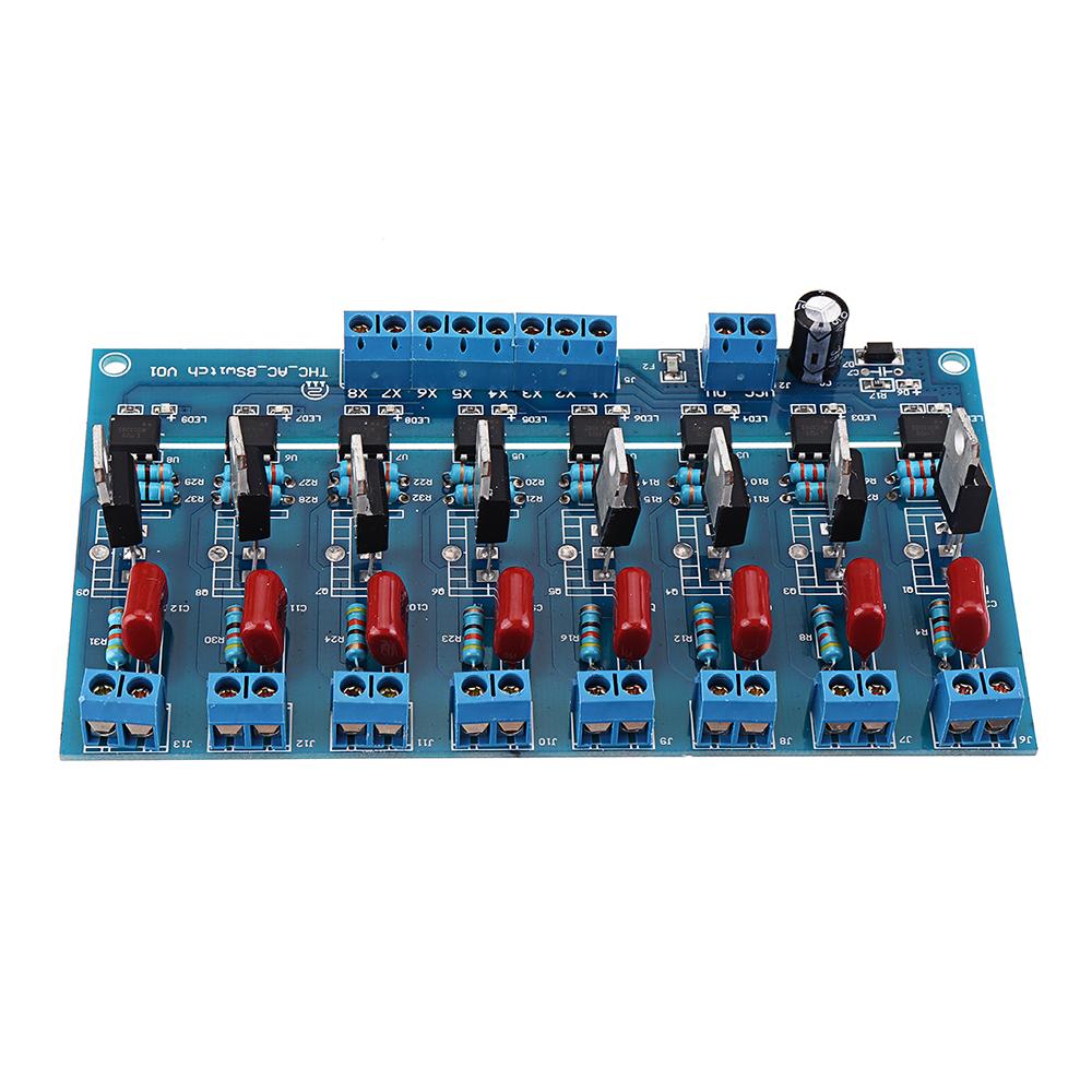 8CH Канал ПЛК Выход DC Транзистор Усилитель Изоляция Пластина Плата - фото 5