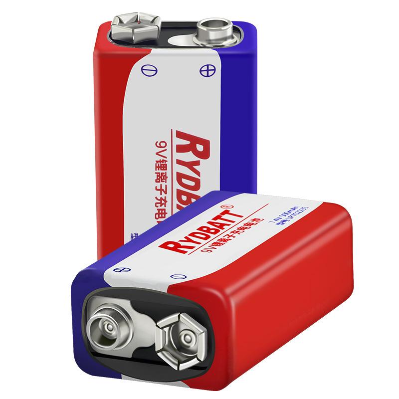RYDBATT 9V 500mAh аккумуляторная Lipo Батарея - фото 1