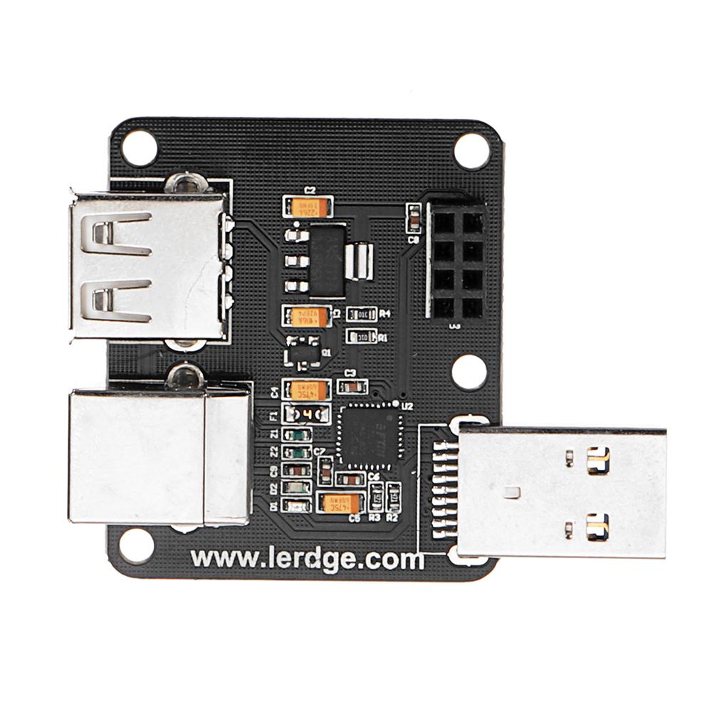 Модуль расширения модуля расширения USB для модуля Lerdge для материнской платы 32-битный контроллер 3D-принтера - фото 3