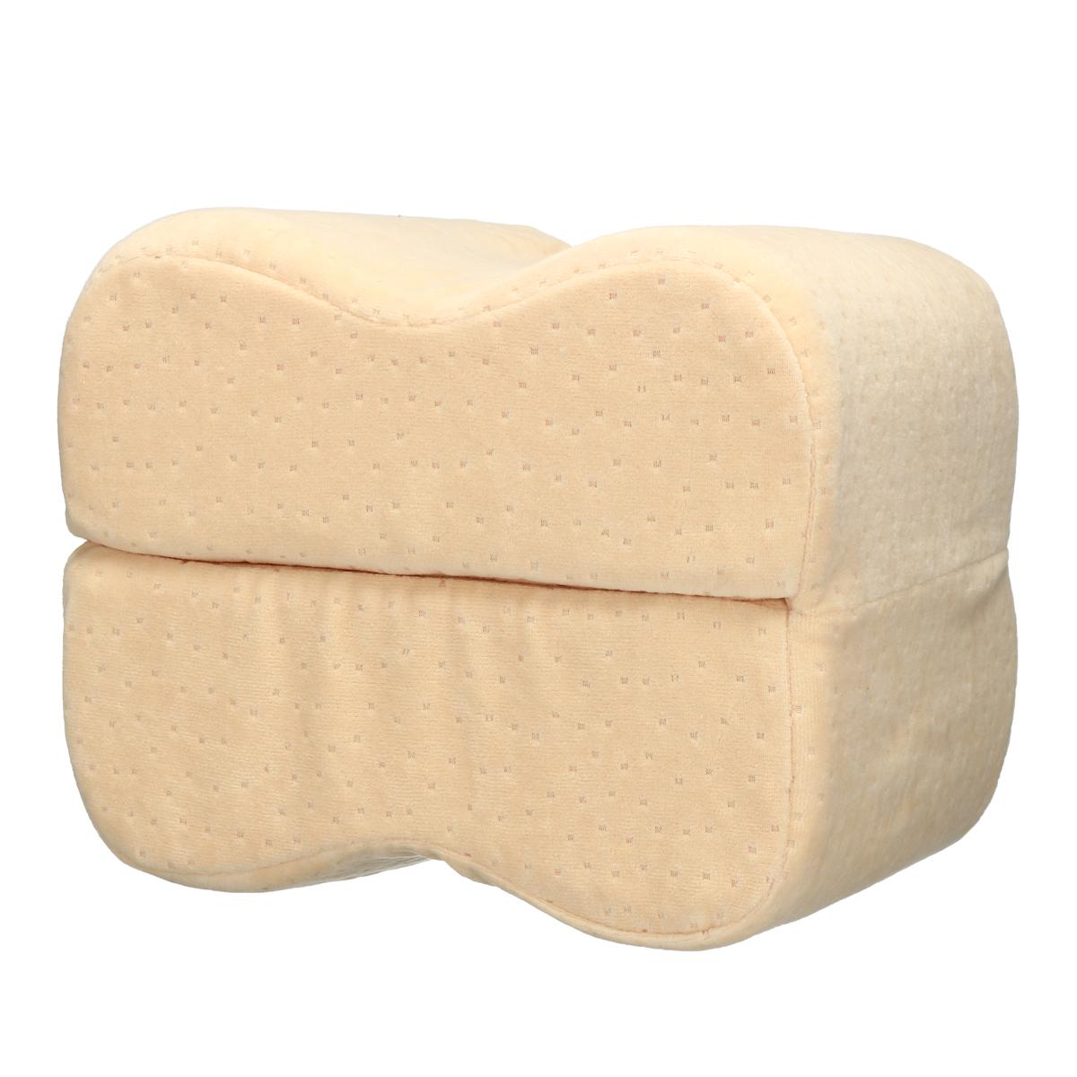 Подушка Sleep Foam Yoga Подушка для ног Спальники и боковые шпалы, эргономичный вариант пуховой альтернативы между и под - фото 9