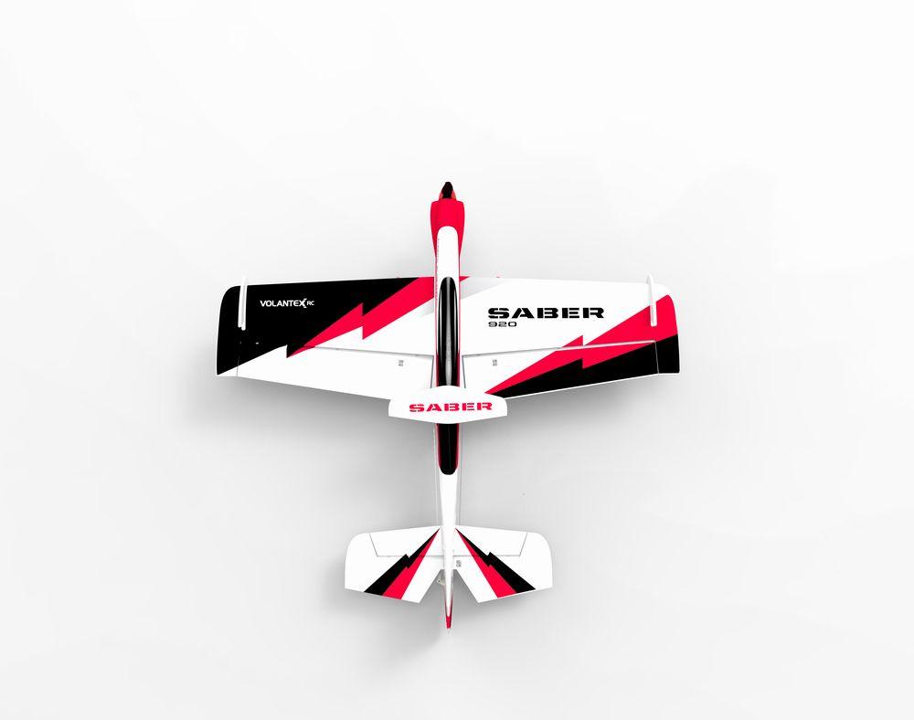 Volantex Sabre 920 756-2 EPO 920 мм Размах крыльев 3D Пилотажный самолет RC Самолет KIT / PNP - фото 2