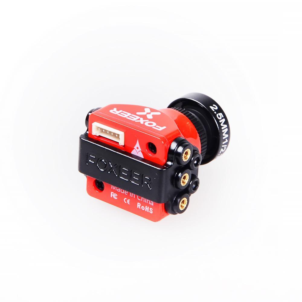 FoxeerArrowMini/StandardPro 1,8 мм 650TVL 4: 3 WDR FPV камера Встроенный OSD с кронштейном NTSC / PAL для RC Дрон - фото 4