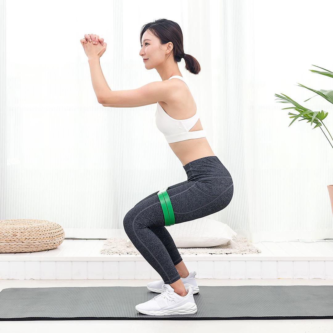 Xiaomi7thФитнесСтрейчСтандартыРезина Сопротивление Стандартыs Body Beauty Тренажер для мышц Ремень - фото 3
