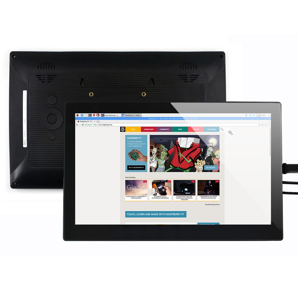 Wareshare 13,3 дюймов HDMI VGA HD Дисплей с емкостным сенсорным экраном из закаленного стекла 1920x1080 для NVIDIA Jetso - фото 1