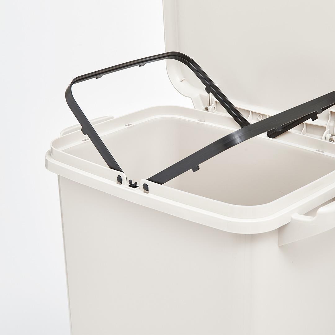 38L Большая емкость для мусора Двухпалубная крышка для мусора Ведро для хранения мусора Сумка от XIAOMI youpin - фото 5