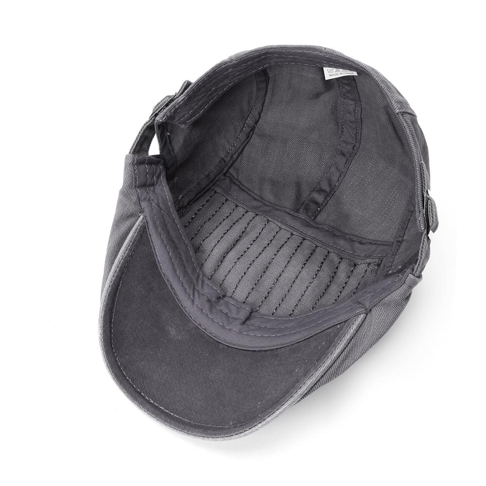 Регулируемые двухсторонние мужчины Женское Беретные шапки маляра Classic Газетчик Такси Шапка - фото 9