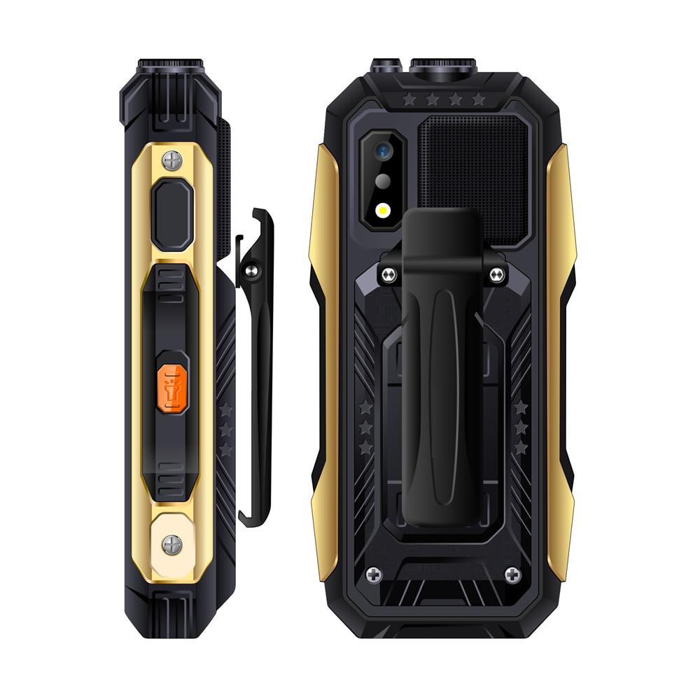 SERVO X7 2.4  4000mAh Антенна Аналоговое изменение голоса телевизора Лазер Фонарик OTG 3 SIM-карты с функцией телефона - фото 8