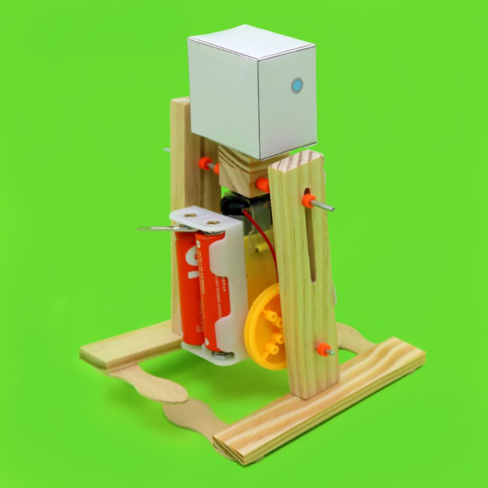 DIY Электронный ходячий робот DIY Обучающий игрушечный робот Собранная игрушка для детей - фото 4