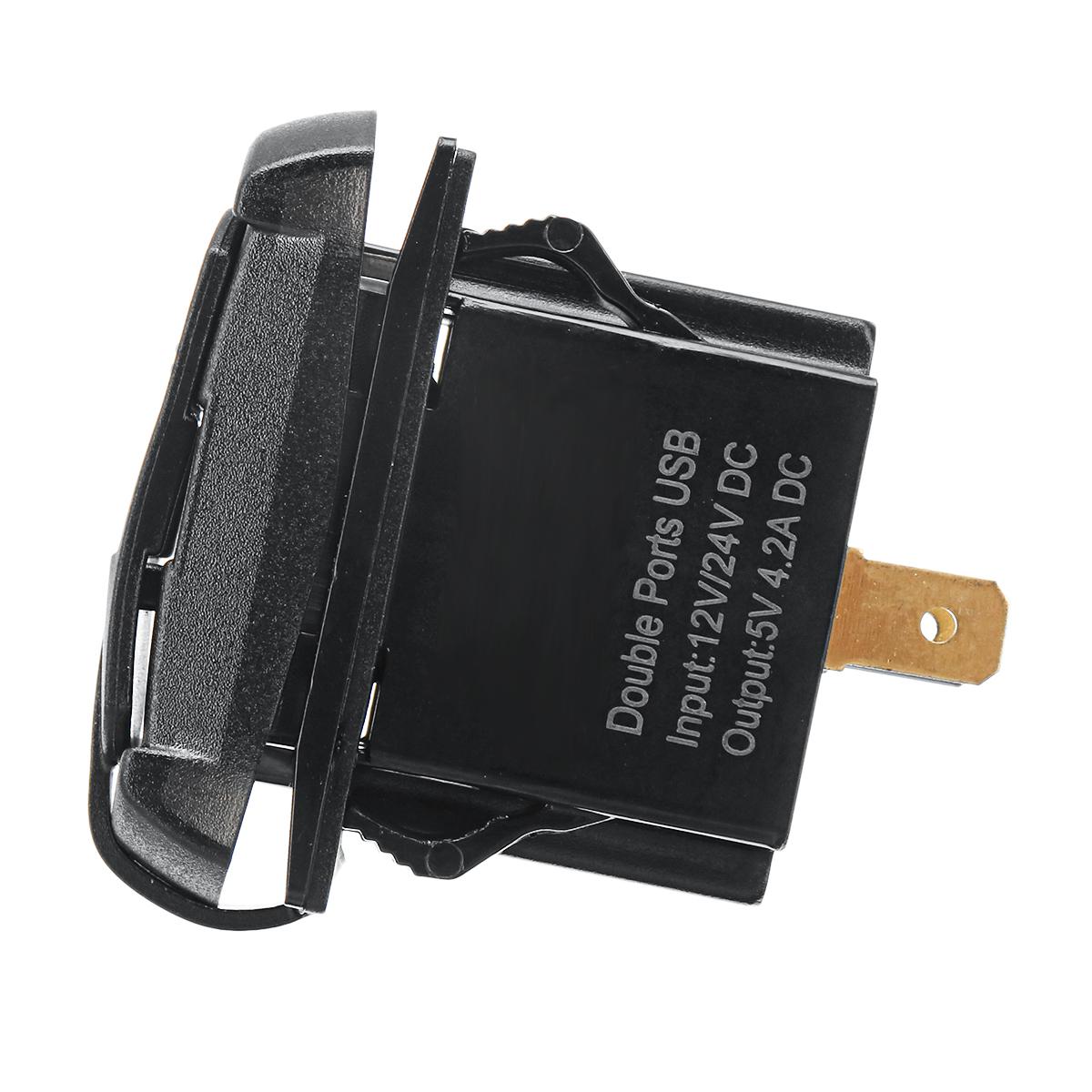 Зарядное устройство USB для Polaris UTV RZR RZR4 Ranger XP 1000 900 800 Crew 2015 2016 - фото 7