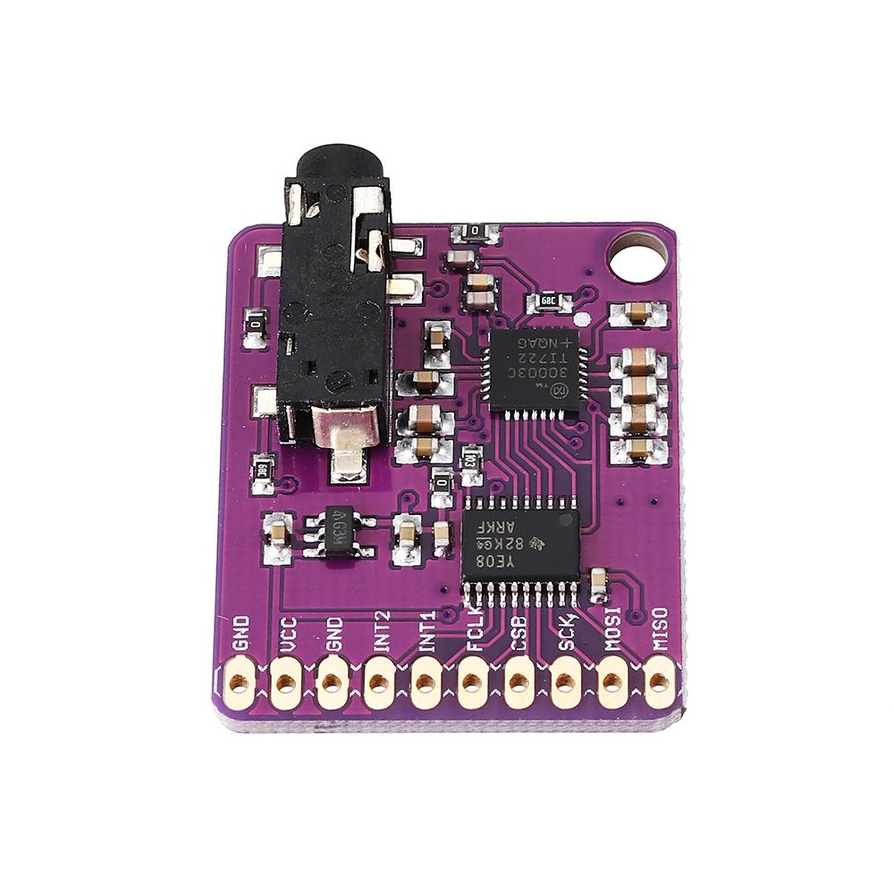 CJMCU-30003 MAX30003 Одноканальный биоэлектрический потенциал Аналоговый входной конец AFE Конвертер обнаружения ЭКГ RR - фото 8