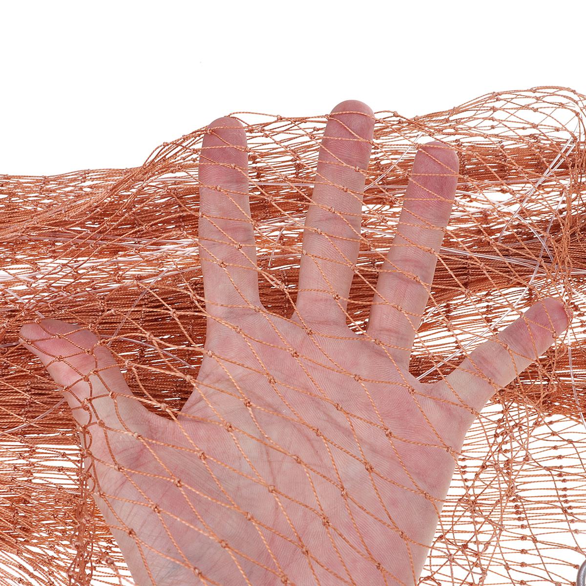 3.0M 10FT Hand Easy Throw Руководство Рыбалка Сетка Spin Bait Сетка для литья шин - фото 10