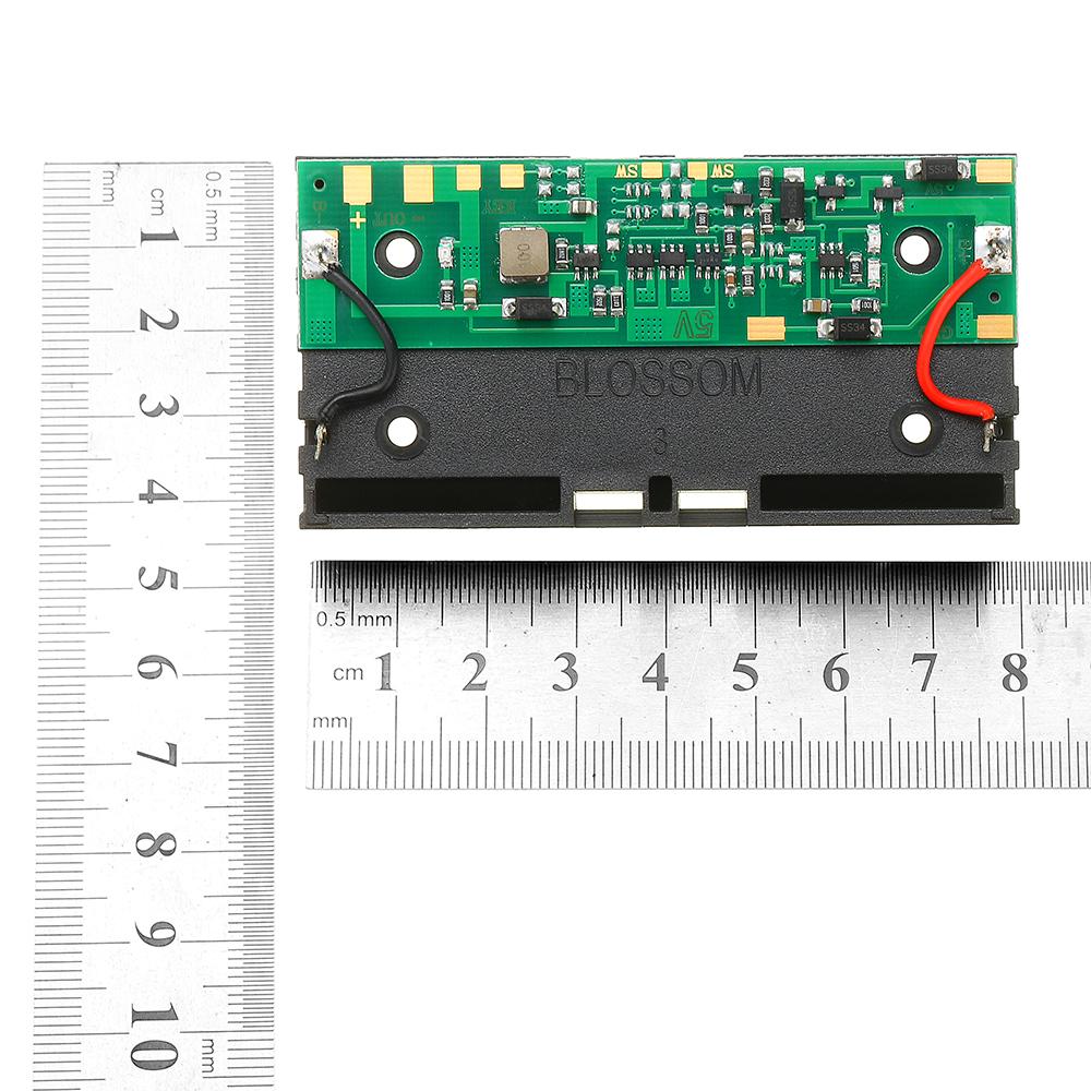 3шт 5V 2 * 18650 Литий Батарея Зарядка ИБП Непрерывная защита Встроенный модуль повышения платы с держателем Батарея - фото 8