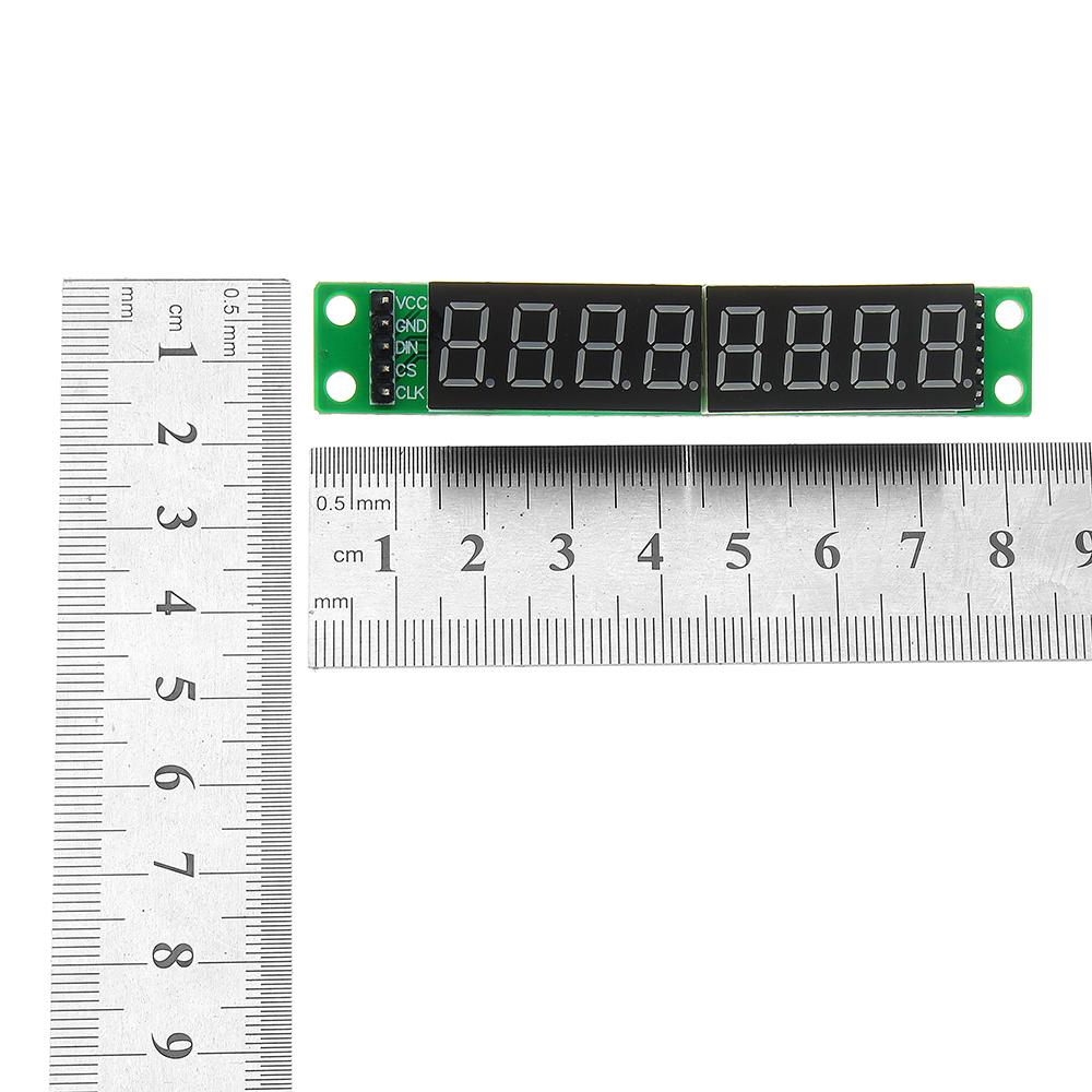 3шт MAX7219 красный 8 битный цифровой Трубка LED Дисплей модуль для микроконтроллеров - фото 2