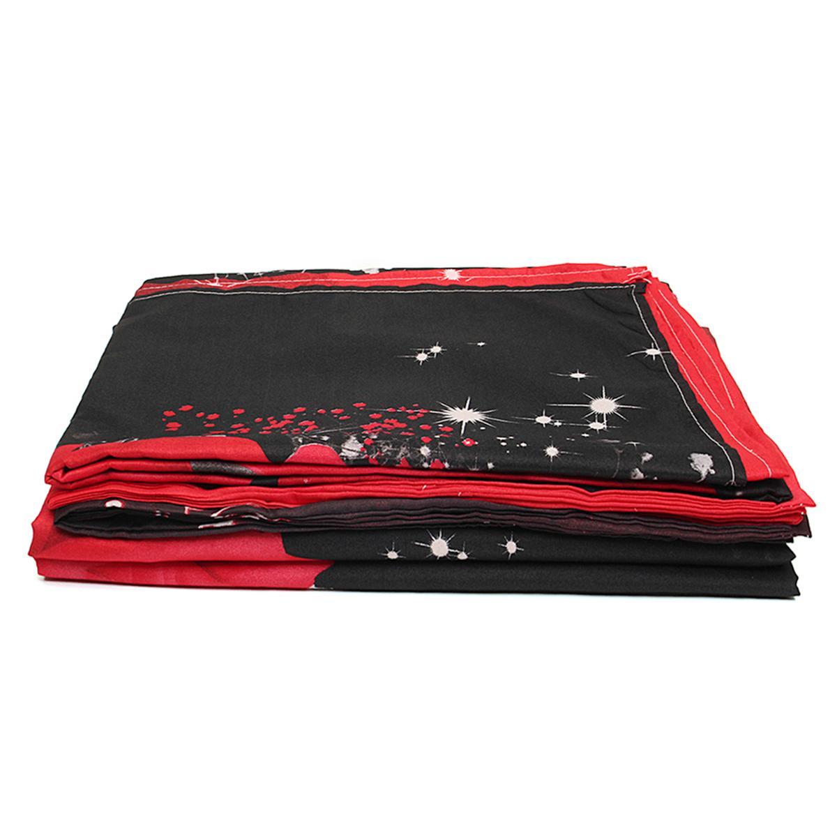 4шт.3D-изображенияНаборыдляпостельного белья Комплект подошв 1 Одеяло Обложка 1 Оборудованный лист 2 Подушки - фото 4