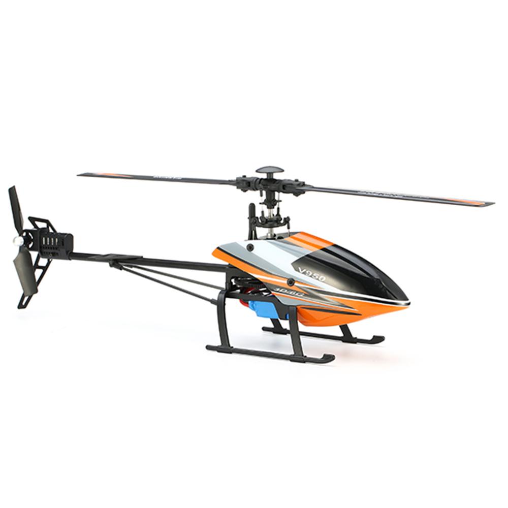WLtoys V950 2.4G 6CH 3D6G System Бесколлекторный Flybarless RC Вертолет RTF с 4PCS 11.1V 1500MAH Lipo Батарея - фото 3