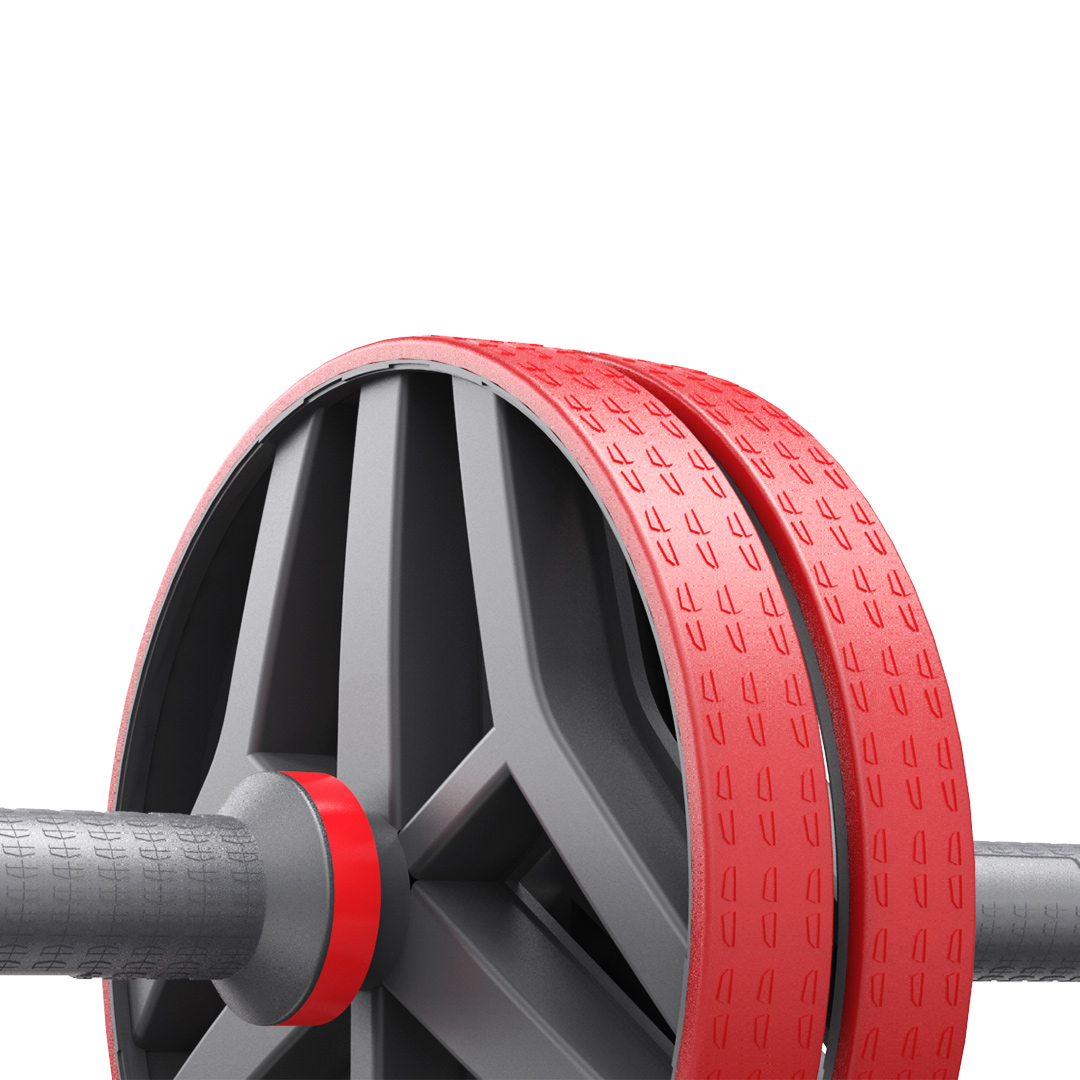 XiaomiКОРМИЛИКомнатноебрюшноеколесоРолик Нескользящие спортивные Фитнес ягодицы спины Тренажер для мышц брюшного пр - фото 4