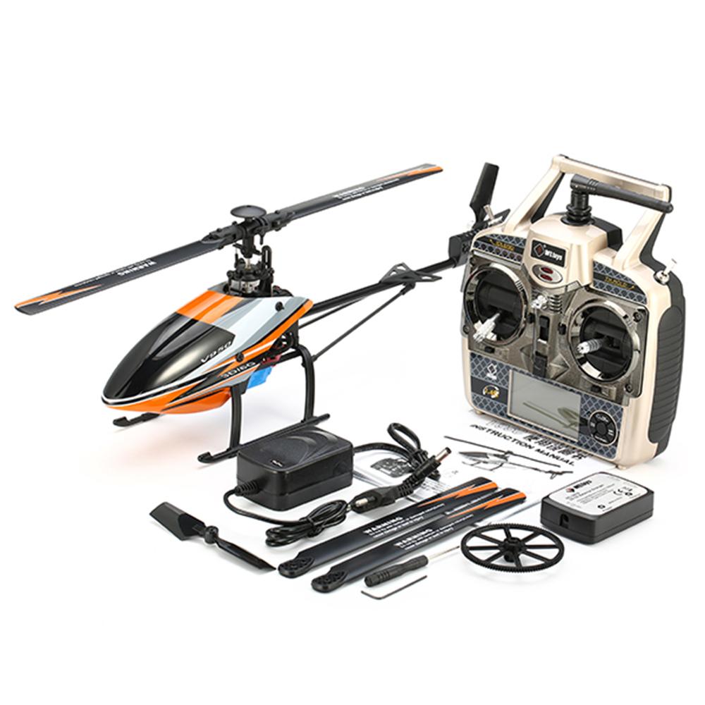 WLtoys V950 2.4G 6CH 3D6G System Бесколлекторный Flybarless RC Вертолет RTF с 4PCS 11.1V 1500MAH Lipo Батарея - фото 11