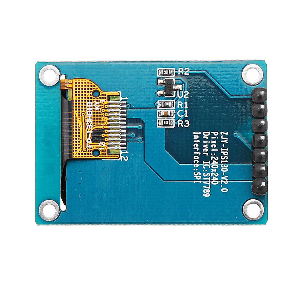 1.3дюймовIPSTFTLCDДисплей 240 * 240 Цвет HD LCD Экран 3.3V ST7789 Модуль драйвера - фото 8