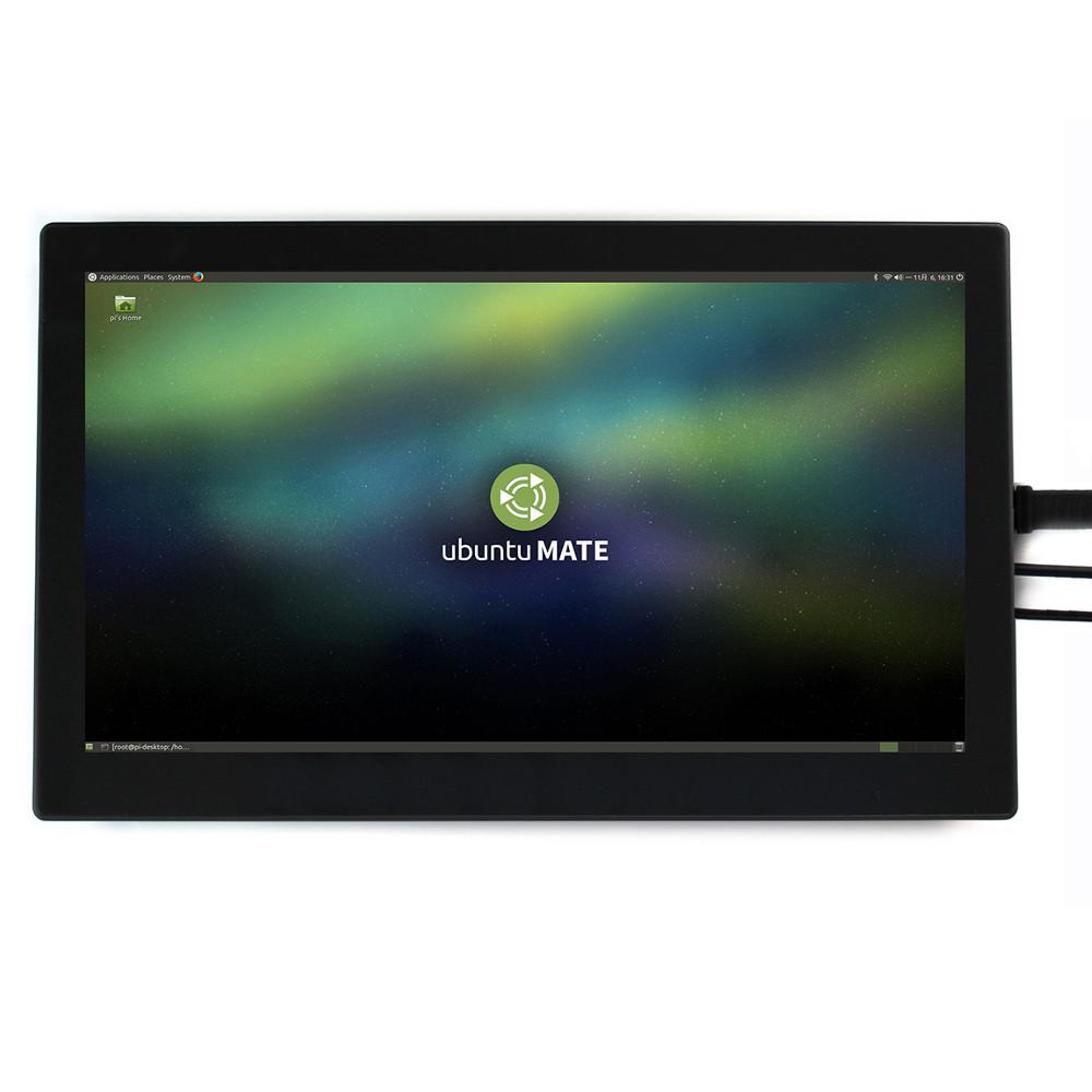 Wareshare 13,3 дюймов HDMI VGA HD Дисплей с емкостным сенсорным экраном из закаленного стекла 1920x1080 для NVIDIA Jetso - фото 4