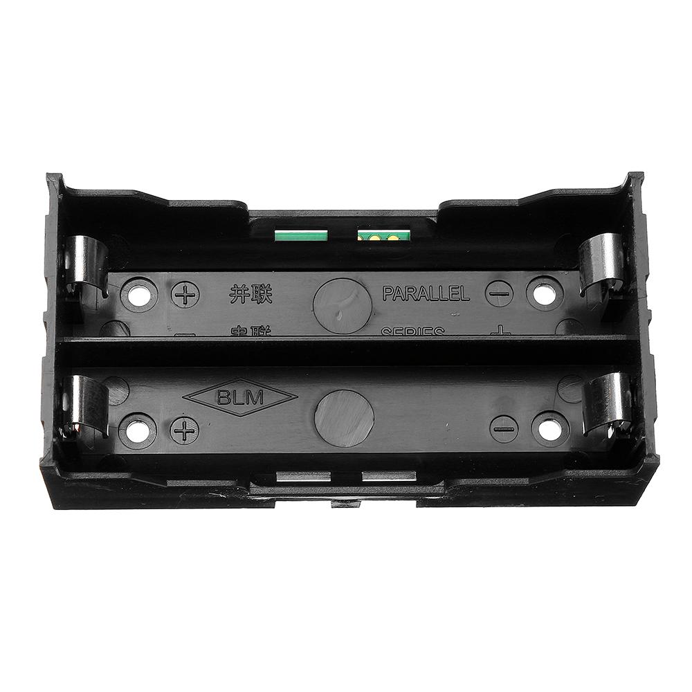 3шт 5V 2 * 18650 Литий Батарея Зарядка ИБП Непрерывная защита Встроенный модуль повышения платы с держателем Батарея - фото 5