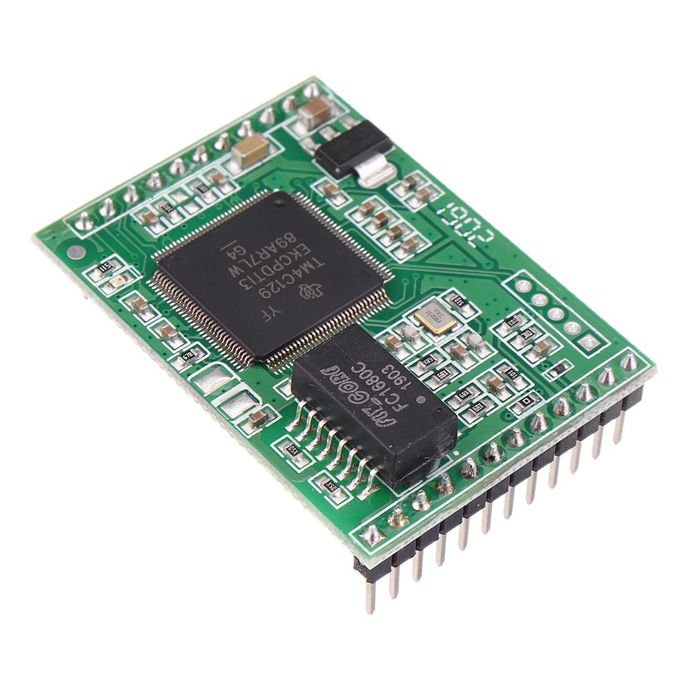 Три3-канальныхпоследовательныхпортадлямодуля Ethernet Поддержка уровня TTL Поддержка веб-конфигурации DHCP USR-TCP2 - фото 5