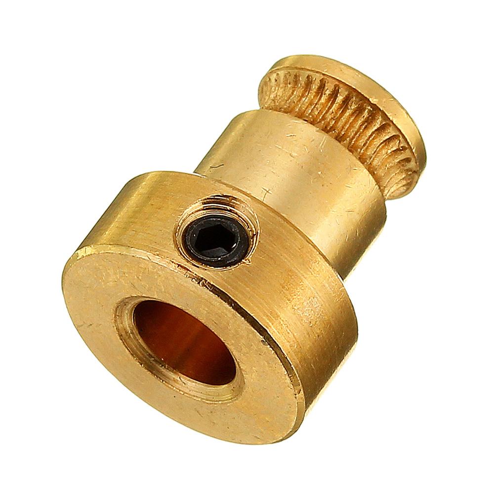 8шт латунь подачи колесо 1.75 мм нити экструдер приводной механизм для 3D-принтер шкив экструдера - фото 1