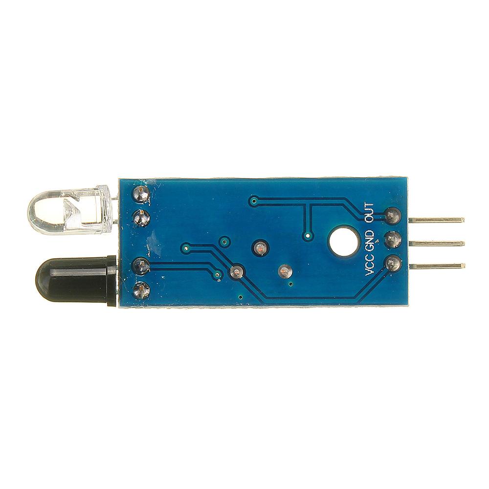 Фотоэлектрический Датчик инфракрасный модуль сигнализации предупреждения отражения препятствий 30шт - фото 4