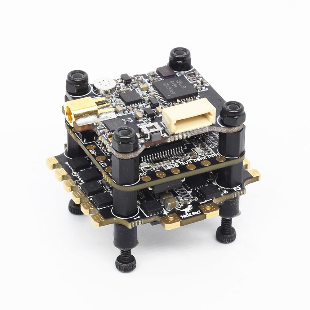 HGLRC XJB F438-Forward VTX Мини 20x20 мм стека F4 V2 Контроллер полета и 33A BL_S ESC & 25/100/200/350 мВт VTX - фото 4