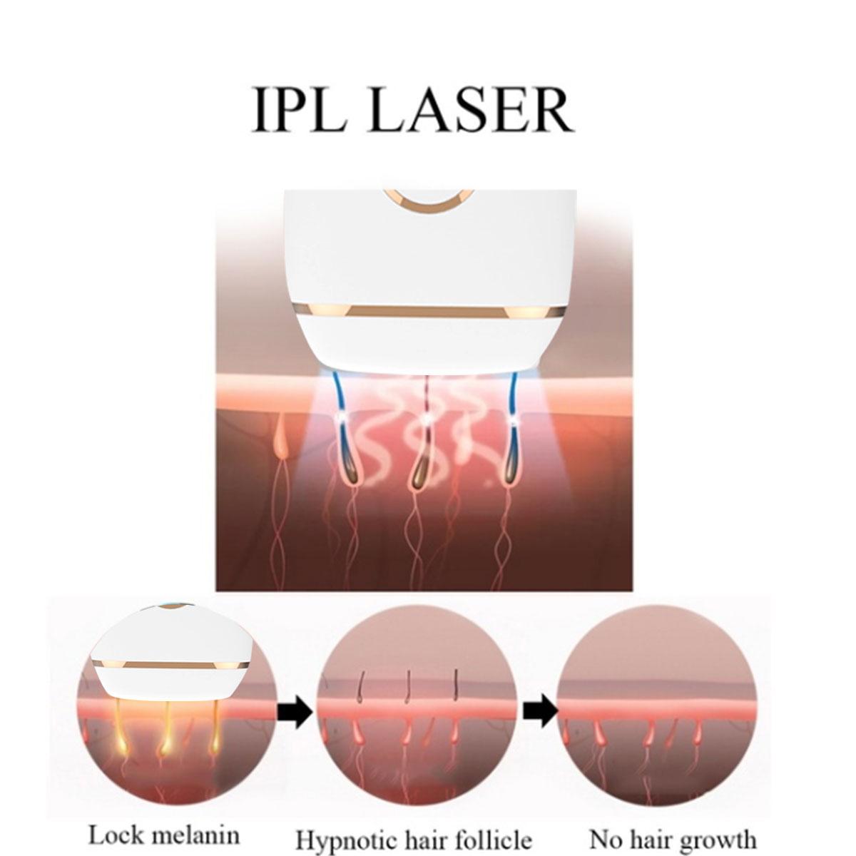 5 Speed Revolution IPL Permanent Лазер Волосы Удаление для 300 000 вспышек Эпилятор Безболезненный Электрический Волосы - фото 8
