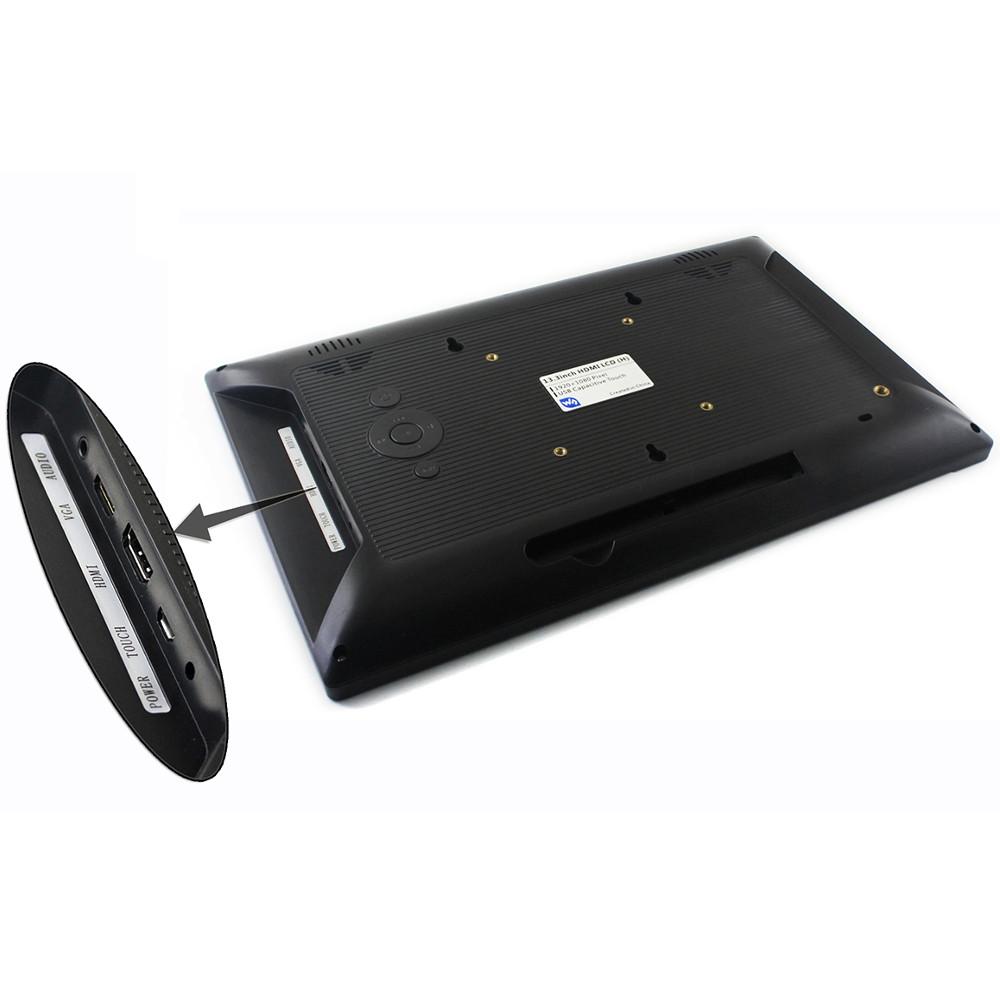 Wareshare 13,3 дюймов HDMI VGA HD Дисплей с емкостным сенсорным экраном из закаленного стекла 1920x1080 для NVIDIA Jetso - фото 3