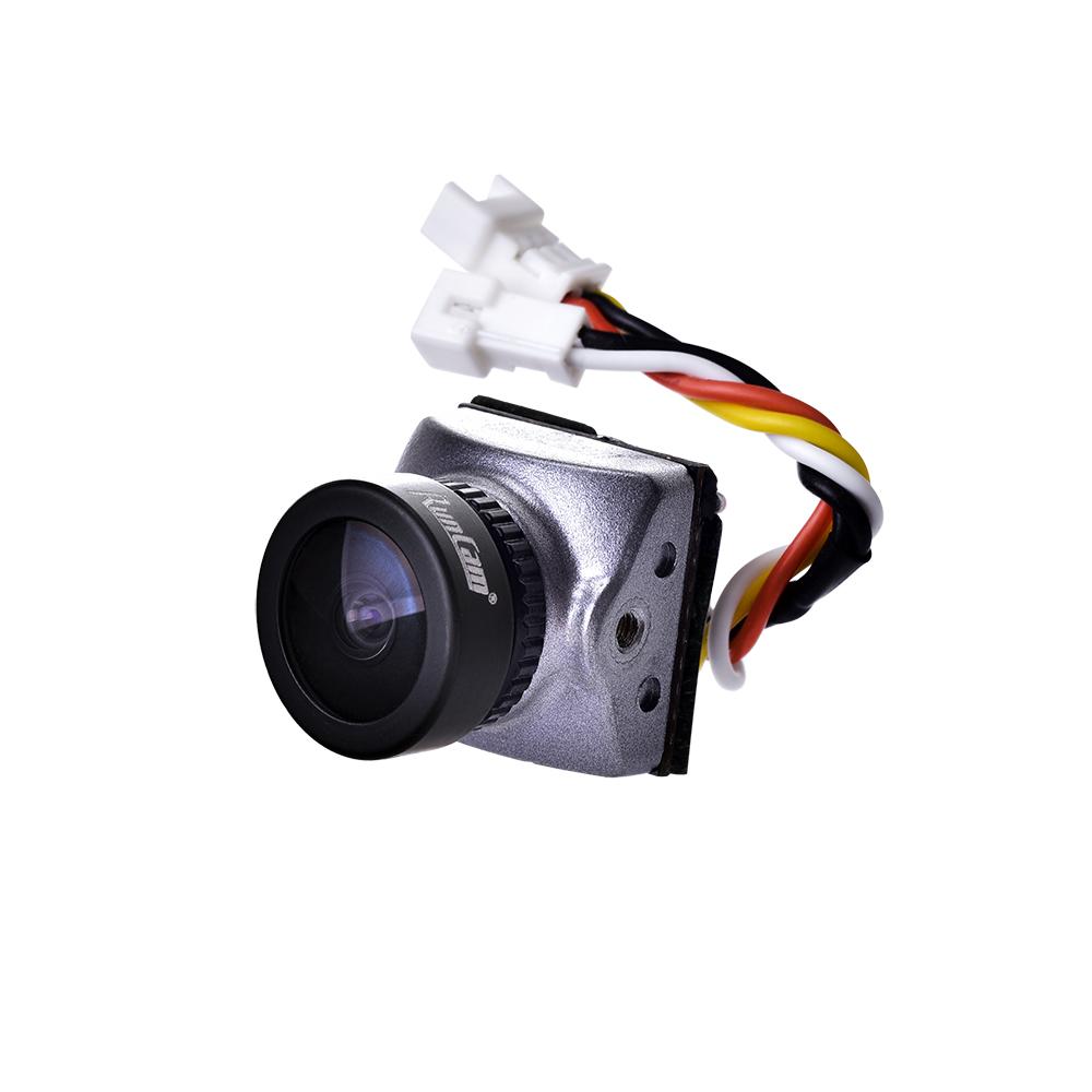 Runcam Гонщик Nano CMOS 700TVL 1,8 мм / 2,1 мм Супер WDR Самый маленький FPV камера 6 мс Управление жестами с низкой зад - фото 6