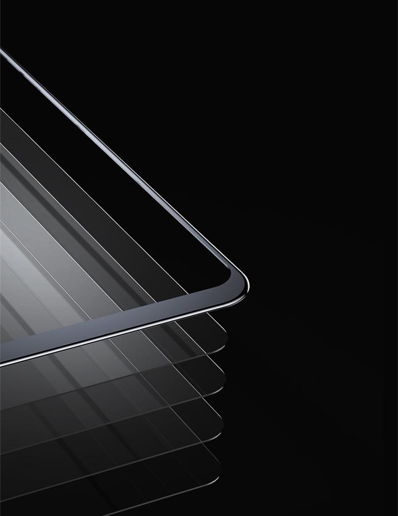Baseus0,3ммПоверхностныйполноэкранныйтемный стеклянный протектор экрана для Xiaomi МИ8 - фото 1