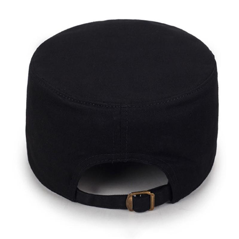 Мужчины Женское сплошной цвет моде хлопок плоские шапки зонтик случайные на открытом воздухе регулируемая шапка - фото 5