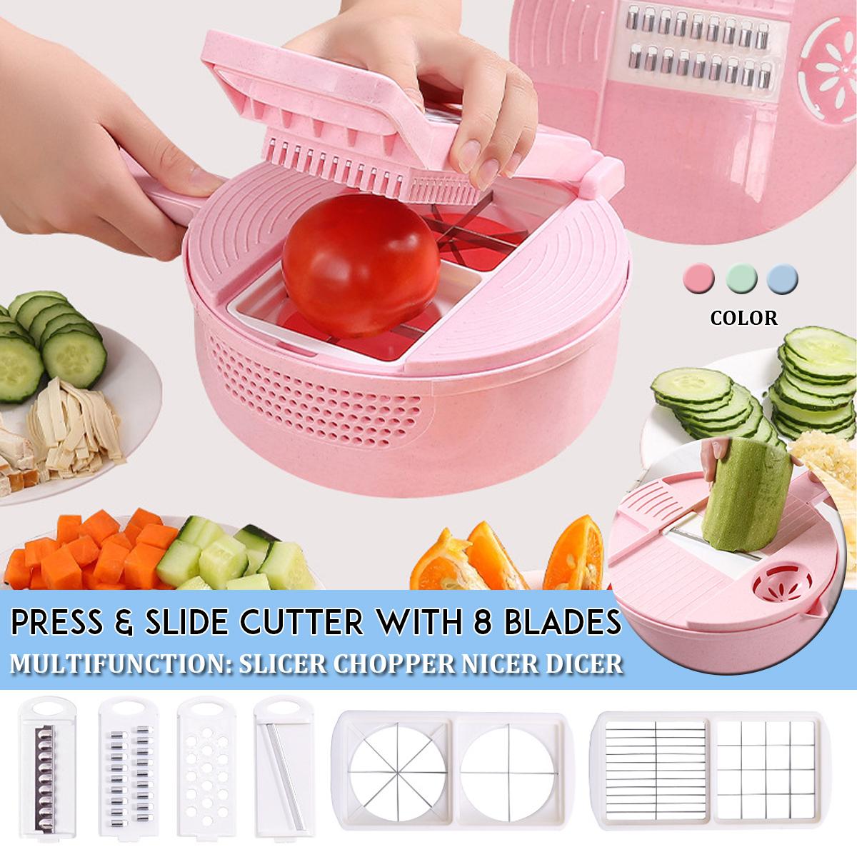 9 В 1 Многофункциональный Easy Food Chopper Cutter Овощерезка Блендер Измельчитель Slicer - фото e62cf94f-bdd7-49d5-ba7b-7227532dbcb6.jpg