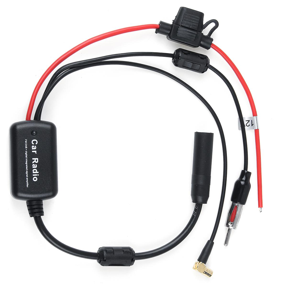Универсальный кабель DAB + FM Авто Антенна Разветвитель антенны Цифровой Радио Усилитель - фото 1