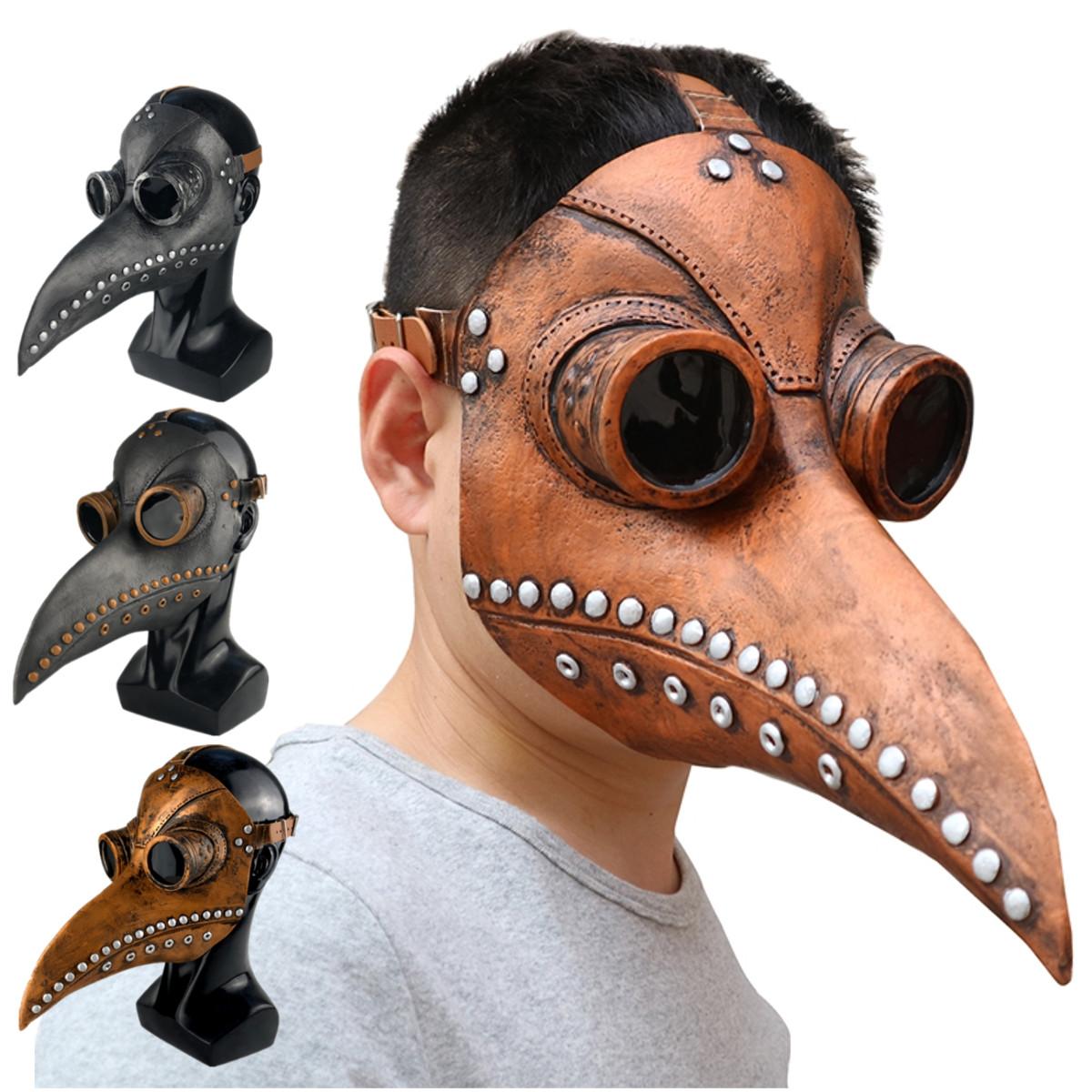 Хэллоуин косплей стимпанк чума доктор Маска птица клюв реквизит ретр готика Маскаs - фото c551da5e-1615-4a43-b8fe-95371754f235.jpg