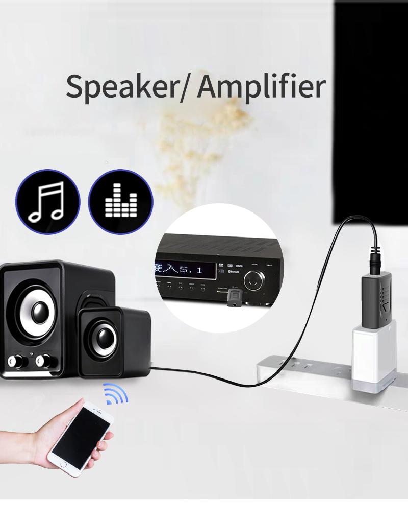 IMars M135 Bluetooth 5.0 4-в-1 Аудио Беспроводной Приемник Передатчик Стерео AUX RCA Разъем USB 3,5 мм для ТВ ПК Авто Ад - фото 6
