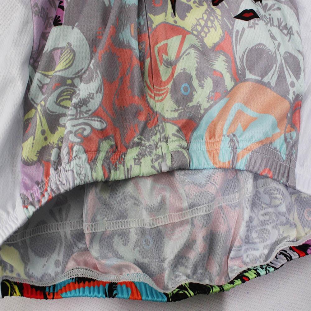 Мужские рубашки для велоспорта с короткими рукавами и молнией - фото 5