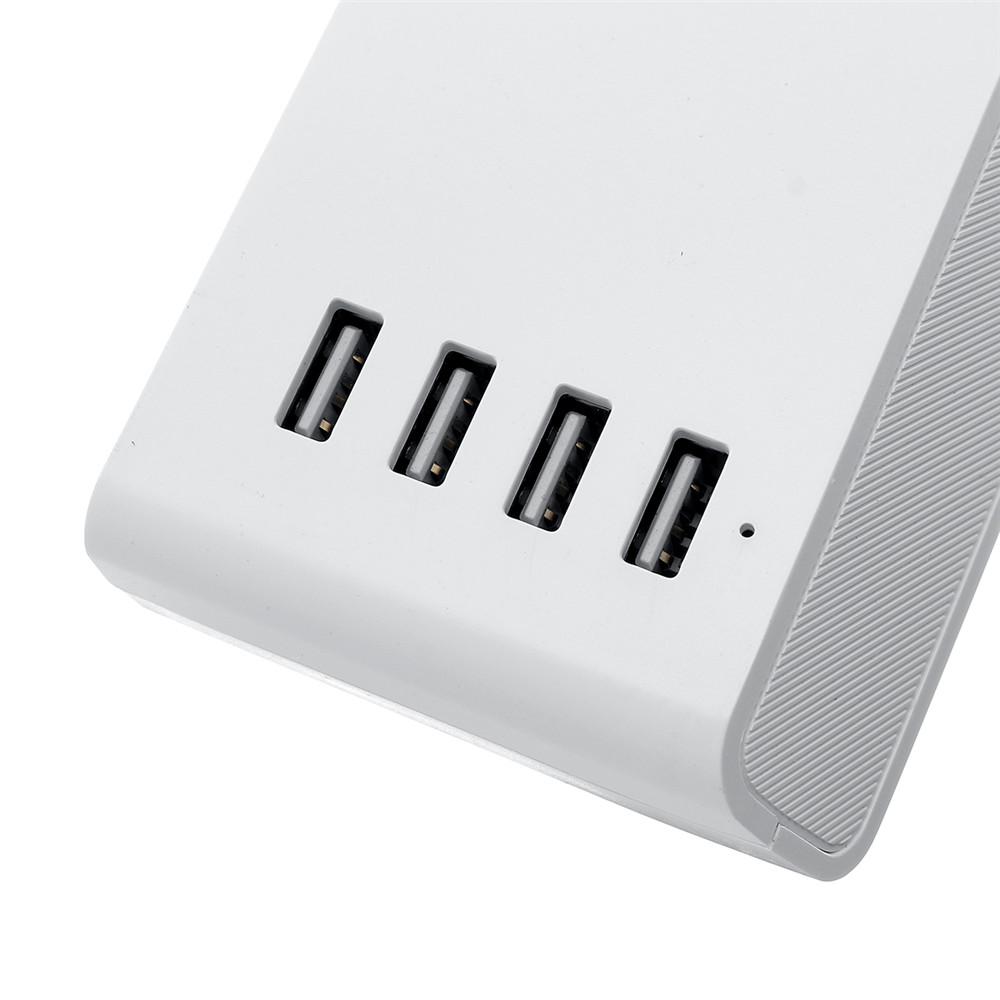100-240 В Smart WIFI Разъем 4 US Разъемы с 4 портами USB Разъем Переключатель Поддержка Alexa / Echo / Главная страница - фото 4