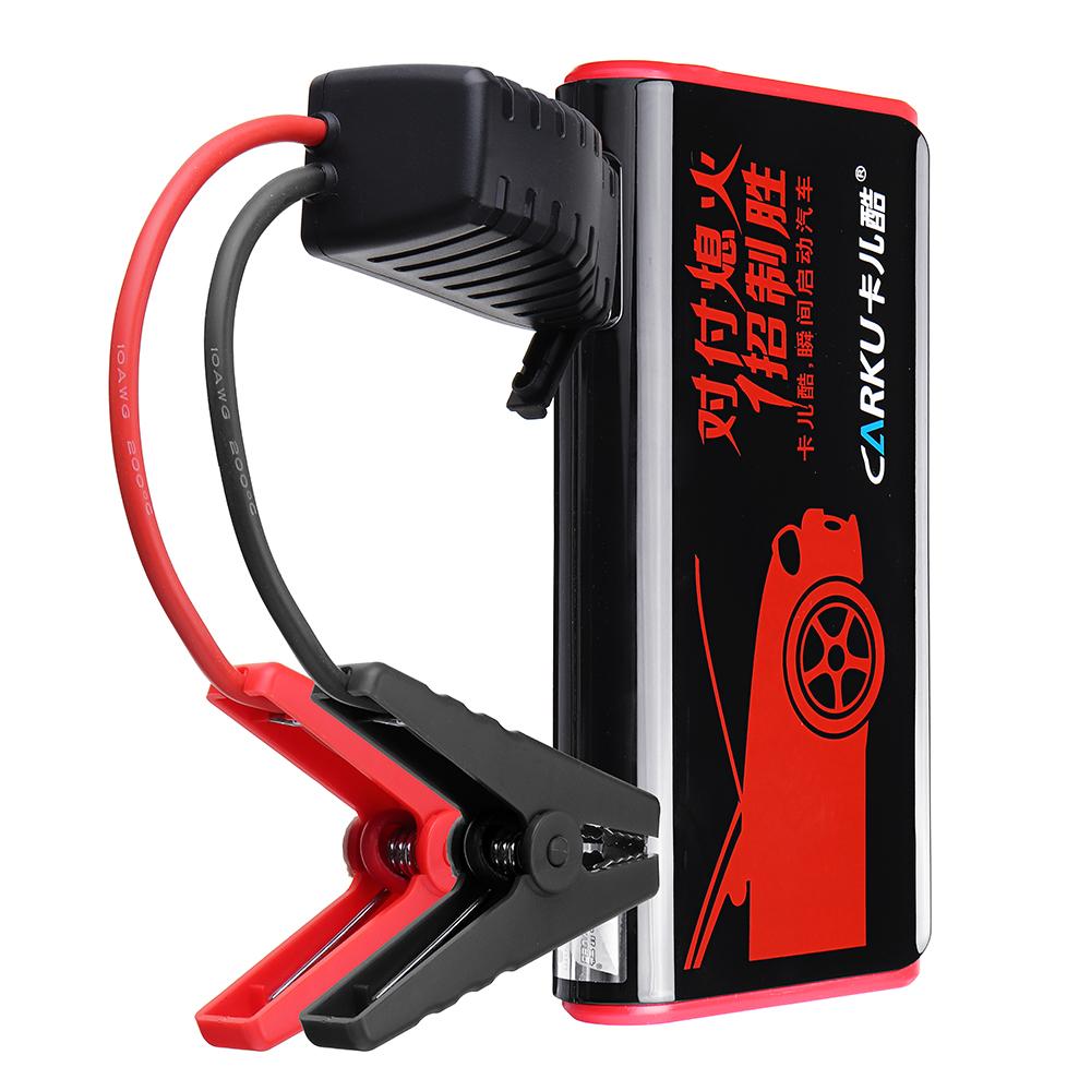 CARKUX3ПортативныйАвтоJumpStarter 12V 9000mAh Emergency Батарея Бустер с QC 3.0 LED Фонарик от Xiaomi Youpin - фото 1
