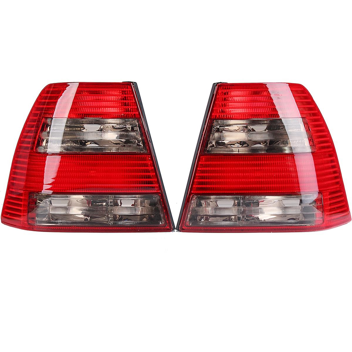 Пара Авто Задний фонарь Тормозная лампа Лампа Красный 401341673737 для VW Jetta / Bora MK4 Седан - фото 1