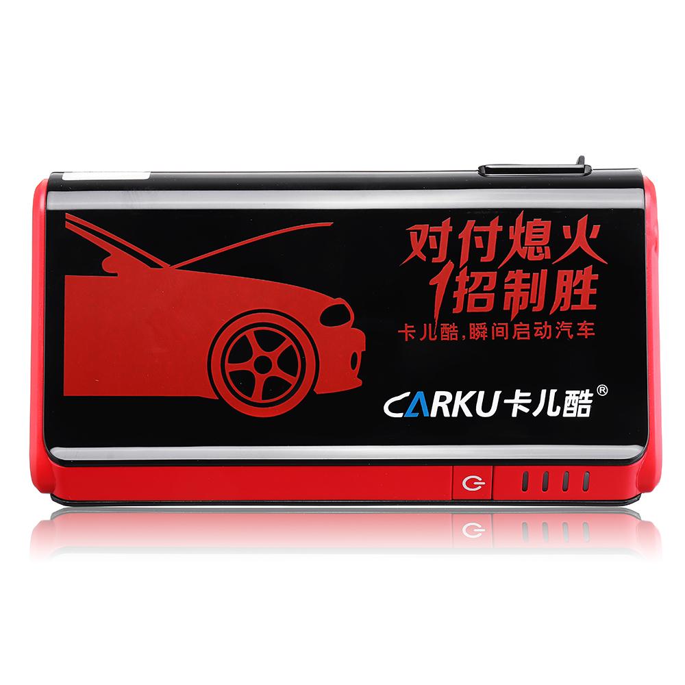 CARKUX3ПортативныйАвтоJumpStarter 12V 9000mAh Emergency Батарея Бустер с QC 3.0 LED Фонарик от Xiaomi Youpin - фото 5