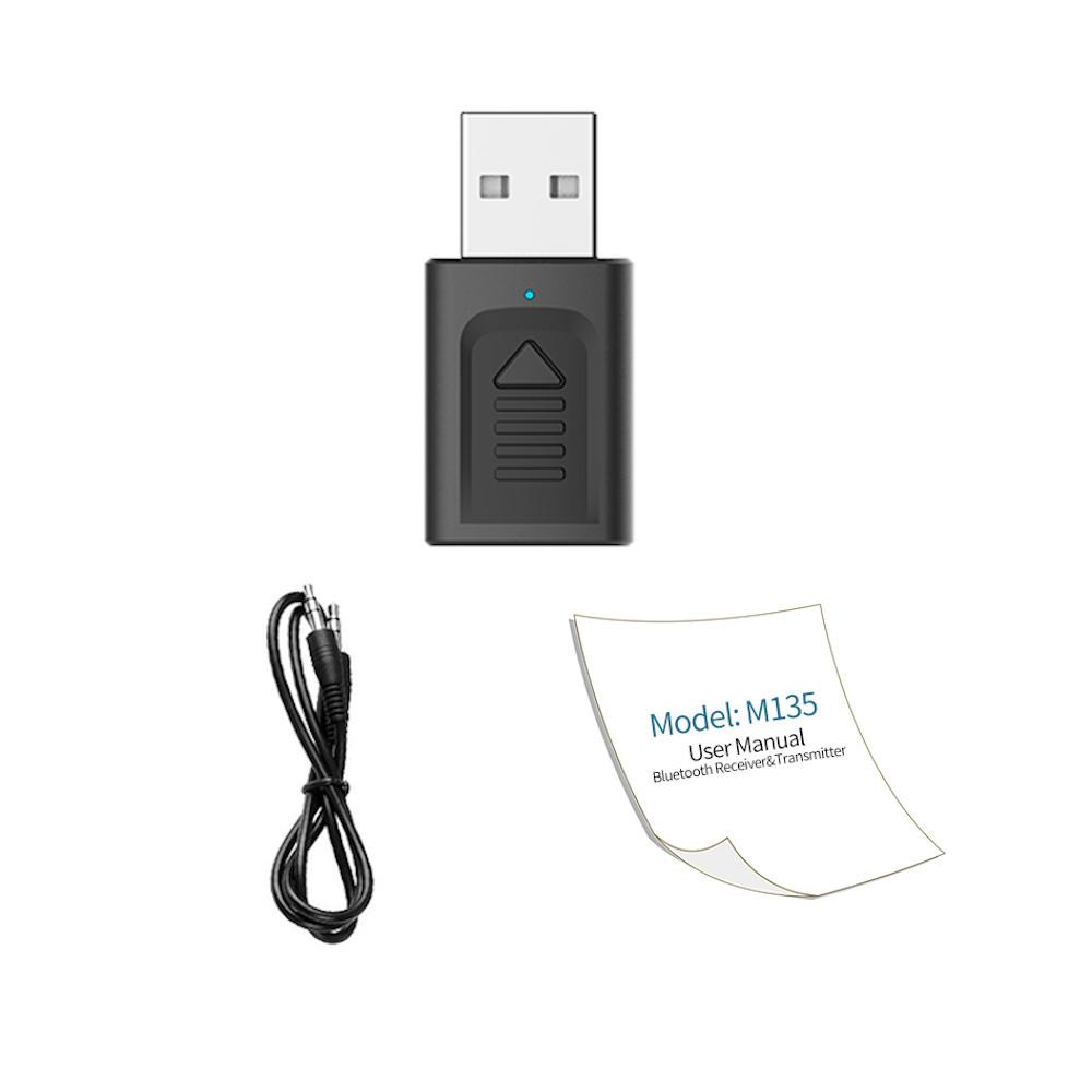 IMars M135 Bluetooth 5.0 4-в-1 Аудио Беспроводной Приемник Передатчик Стерео AUX RCA Разъем USB 3,5 мм для ТВ ПК Авто Ад - фото 8