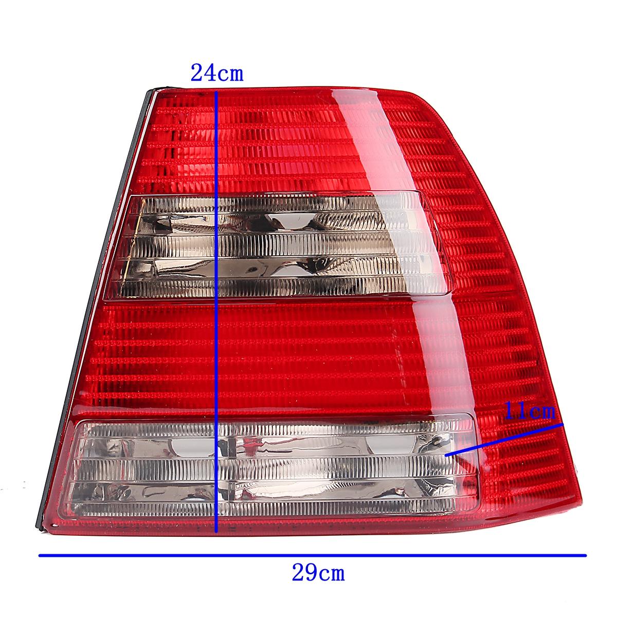 Пара Авто Задний фонарь Тормозная лампа Лампа Красный 401341673737 для VW Jetta / Bora MK4 Седан - фото 2