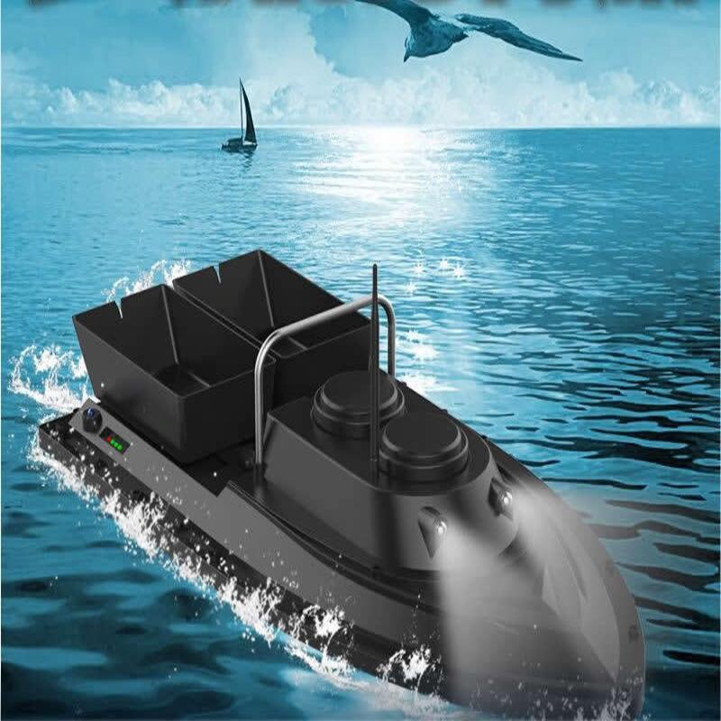 ZANLURE500MetersIntelligentДистанционноеУправление Двойная кабина Рыбалка RC Лодка На открытом воздухе Многофункцио - фото 1