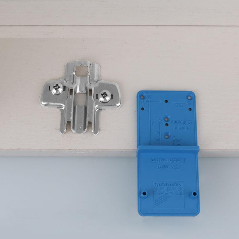 Drillpro Отверстие для шарнирного сверла Локатор Открыватель шаблона отверстия Дверные шкафы DIY Инструмент для Деревооб - фото 5f673a48-6960-4a83-b38d-bf0c9de1ce6a.jpg