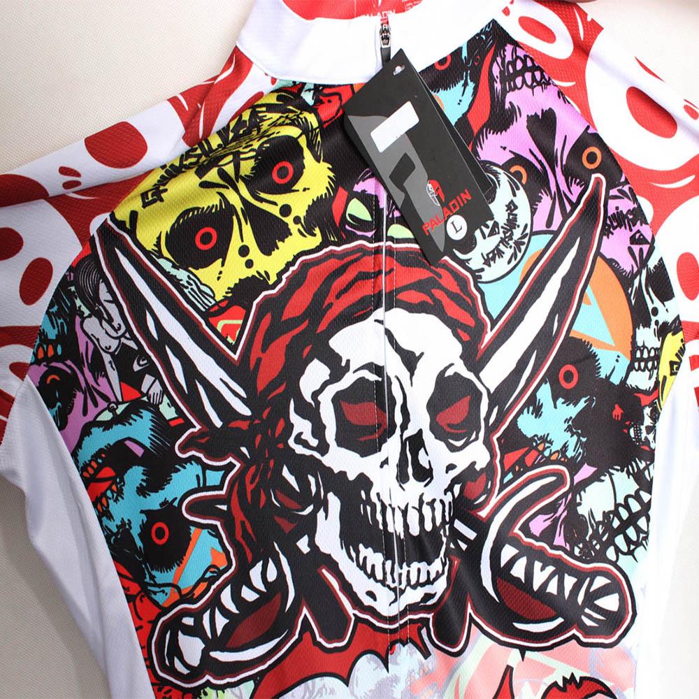 Мужские рубашки для велоспорта с короткими рукавами и молнией - фото 6